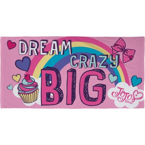 "Jojo Siwa ""Dreams"" 100% Cotton Beach Towel"