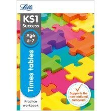 Letts Ks1 Revision Success - New Curriculum: Times Tables Ages 5-7 Practice Workbook
