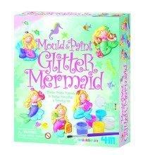Glitter Mermaid Mould & Paint Kit