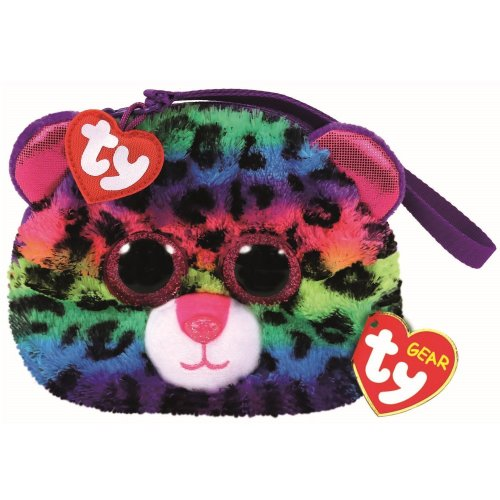 344b2d167e1 TY Beanie Boo Wristlet - Dotty the Leopard on OnBuy