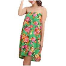 High-grade Thin Salon Khan Steam Bathrobe Bath Skirt Strapless Bathing Dress-A12
