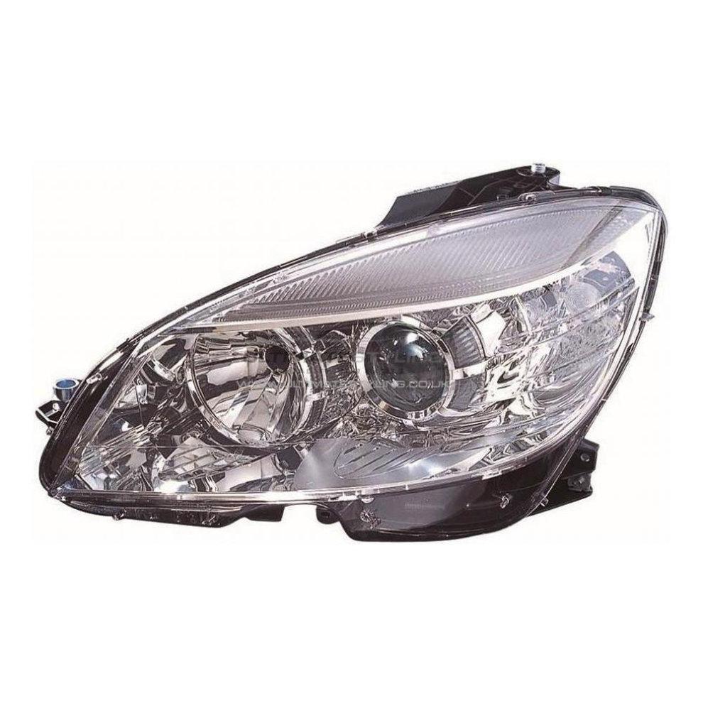 Mercedes C Class W204 Saloon 6/2007-6/2011 Headlight Headlight Passenger  Side