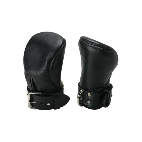 Strict Leather Deluxe Padded Fist Mitts S/M BDSM Hand cuffs - Strict Leather