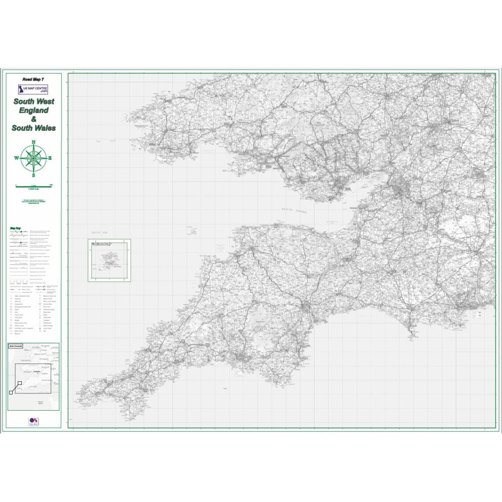 Map Of East Uk.Road Map 8 South East England