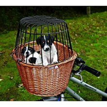 Trixie 2806 Bicycle Basket With Grille 44 x 48 x 33cm - 33cm -  x trixie basket bicycle 44 48 33 cm 2806 grille