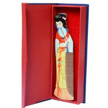 Traditinal Chinese Style Comb Gift/ Detangling Hair Comb    E