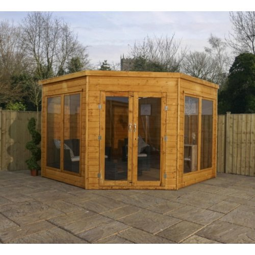9x9 Corner Summerhouse - Premier