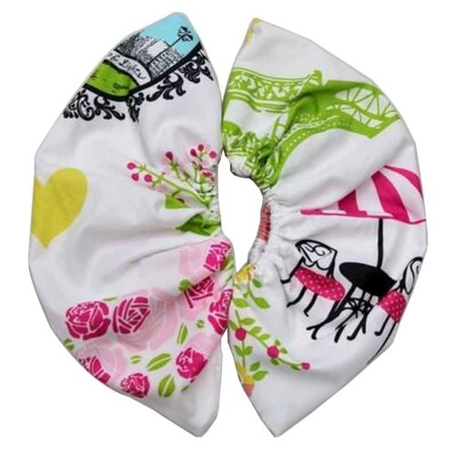 Set of 10 Breathable Shoe Covers Reusable Shoe Covers Durable Washable [G]