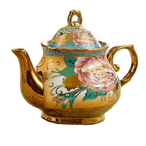 Classical Elegant European style Ceramic Coffee Pot Tea Pot