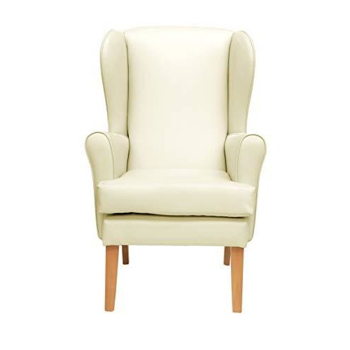 MAWCARE Morecombe Orthopaedic High Seat Chair - 21 x 18 Inches [Height x Width] in Manhattan Cream (lc21-Morecombe_m)