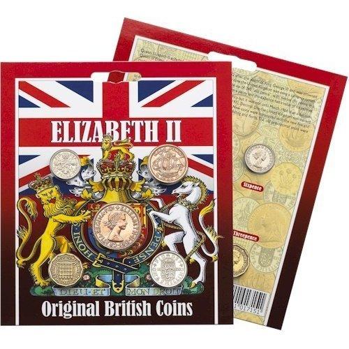 ELIZABETH II - Original British Coins Collection
