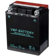 VMF Powersport Liquifix Battery 12 V 12 Ah MF YTX14AH-BS