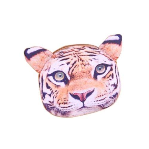 2 Pieces Of Cute Cartoon Tiger Child Messenger Bag/Purse
