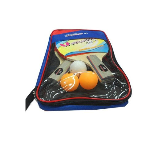 Table Tennis Rackets One Pair with Three Balls