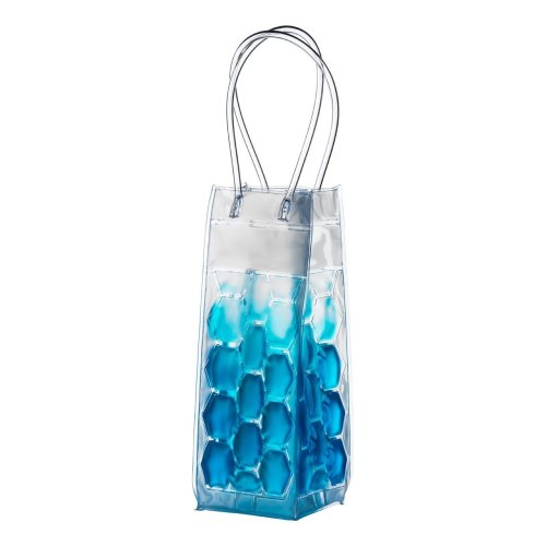 Wine Cooler Bag with Handles - Blue