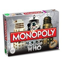 Doctor Who 50th Anniversary Edition Monopoly Family Board Game Brand New Sealed