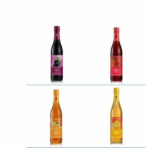 Sodastream 50% Fruit Syrup 440ml Glass Bottle