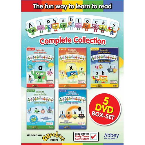 Alphablocks Complete Collection 5 DVD Box Set