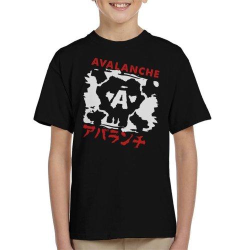 Avalanche Graffiti Final Fantasy VII Kid's T-Shirt