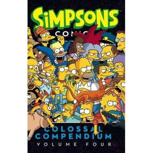 Simpsons Comics- Colossal Compendium: Volume 4