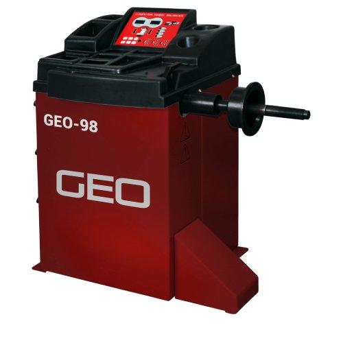 GEO Semi Automatic Wheel Balancer