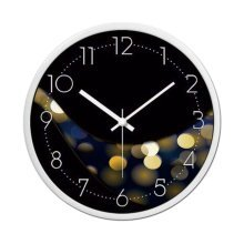 [A] 12 Inch Stylish Wall Clock Decorative Silent Non-Ticking Wall Clock