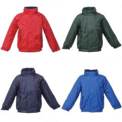 Regatta Kids Unisex Thermoguard Fleece Lined Dover Jacket (Windproof & Waterproof)