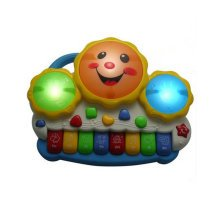 Musical Electric Baby Toys Hand Drum Instrument Percussion Set for Children,Happy Hand Drum