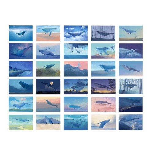 Postcard Set of 30 Postcards Creative Gift Birthday Cards