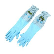 Cleaning Gloves Waterproof Gloves Kitchen Rubber Gloves Laundry Gloves,Blue