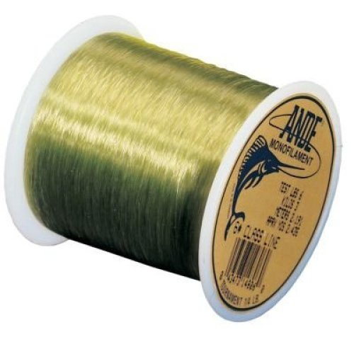 Ande AT1-50G Tournament Monofilament, 1-Pound Spool, 50-Pound Test, Green Finish