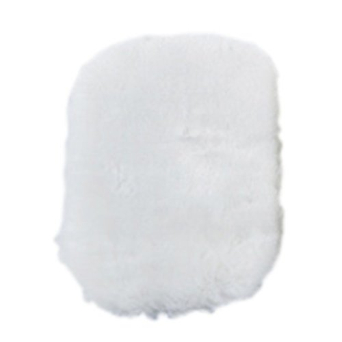 Thick and Super Absorbent Microfiber Car Wash Mitts White Set of 2