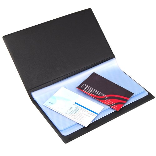 TRIXES Leatherette Executive Business Card Holder