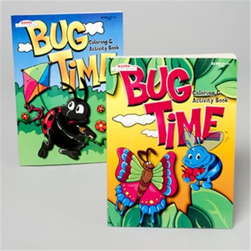 DDI 396006 Coloring Book Bug Time 2 Asst Case of 120