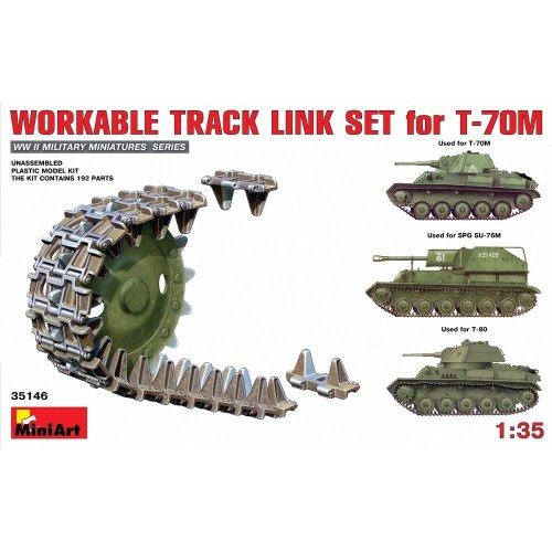 Min35146 - Miniart 1:35 - Workable Track Link Set for T-70m Light Tank