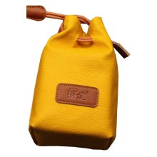 Yellow Camera Pouch Camera Lens Bag Lens Bag