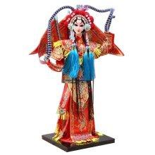 Traditional Chinese Doll Peking Opera Performer - Mu Gui Ying