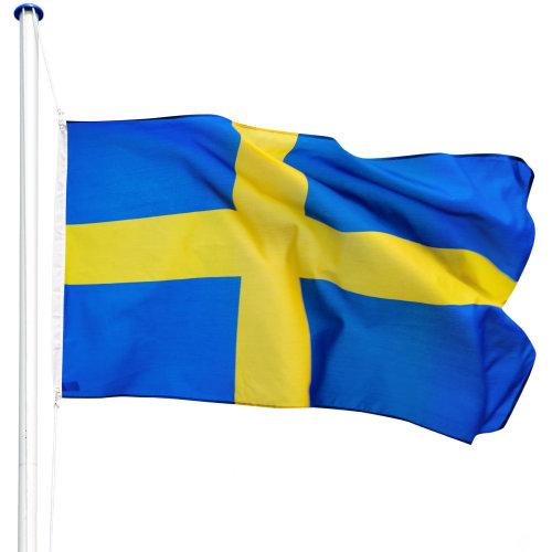 Flagpole aluminium Sweden