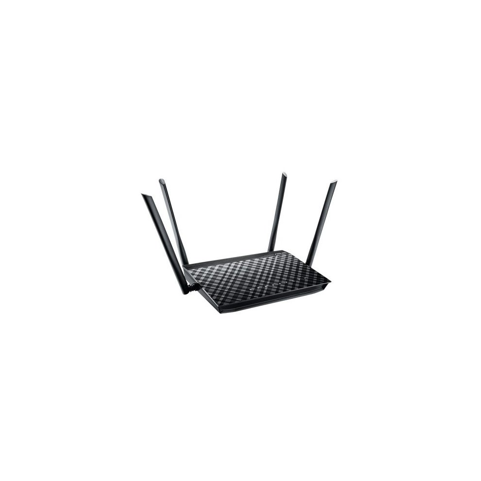 Asus Rt-ac1200g Dual-band (2 4 Ghz / 5 Ghz) Gigabit Ethernet Black Wireless  Router