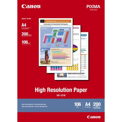 Canon High Resolution Paper A4 - 200 Sheets inkjet paper