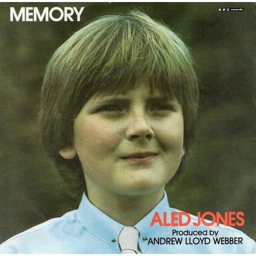 """Memory 7"""" (UK 1985) , Aled Jones"""