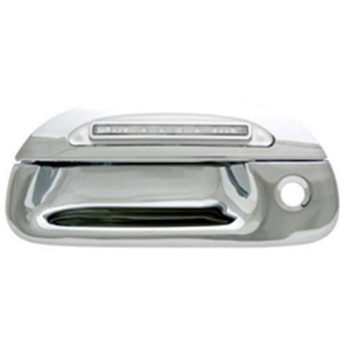 IPCW FLR97CT Ford F150, F250 Ld 1997 - 2003 LED Tailgate Handle, Chrome Red Led, Clear Lens