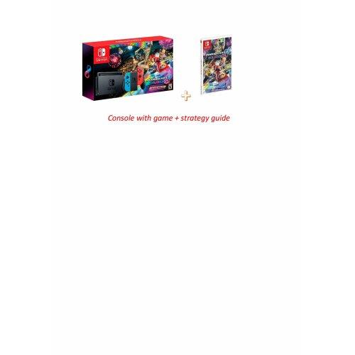 Nintendo Switch Mario Kart 8 Game + Strategy Guide Bundle