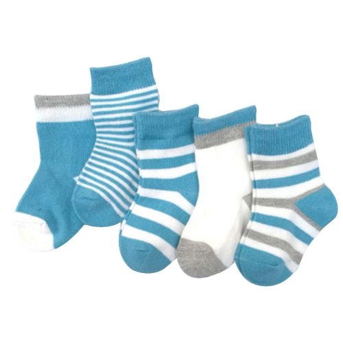 5 Pairs Of Baby Socks Baby Warm Cotton Socks For 1-3 Years Old [D-1]