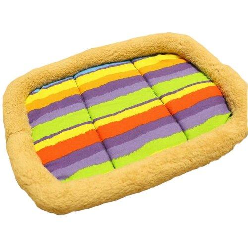 [Rainbow] Soft Pet Beds Pet Mat Pet Crate Pads Cozy Beds For Dog/Cat