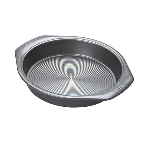Circulon Momentum Bakeware Carbon Steel 24 cm Non-Stick Round Cake Tin - Grey