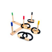 Childrens Wooden Throwing Game / Quoits - Nursery/School