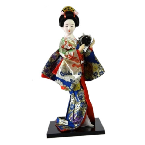 Japanese Geisha Doll Furnishing Articles/ Oriental Doll/ Best Gifts  X