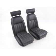 FK Classic Car seats Auto Bucket seats Set Retro-Look