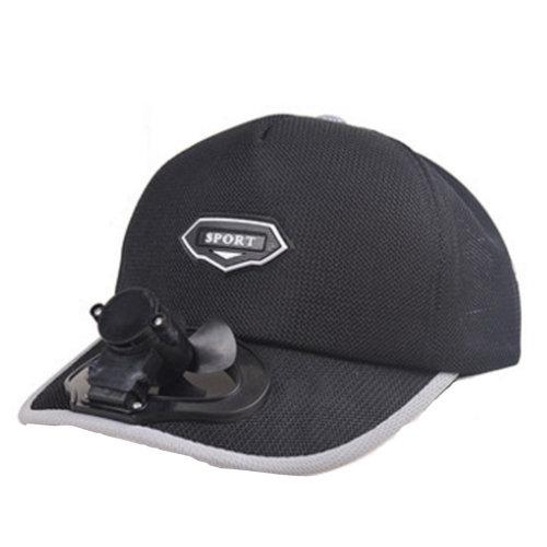 Summer Fan Hat with Fan Fishing Sun Visor Cap#D
